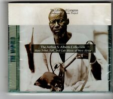 (HK331) Arthur S Alberts Collection, West Africa Music - 1998 Sealed CD