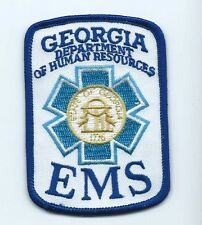 EMS Georgia Department of Human Resources patch 3-5/8 X 2-1/2 #999