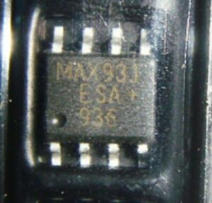 1PCS/5PCS MAX931ESA Ultra Low-Power, Low-Cost Comparators with 2eference SOP8