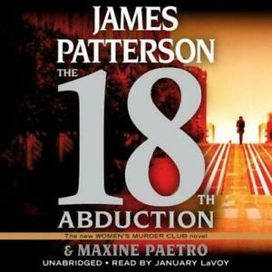 The 18th Abduction by James Patterson & Maxine Paetro (2019, Unabridged) 7 CDs