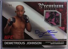 2012 Topps UFC Knockout Demetrious Johnson Premium Pieces Auto Relic #11/88