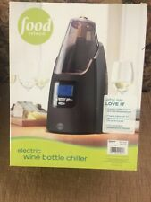 Food Network electric wine bottle chiller New in Box