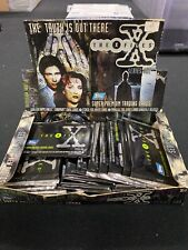 Topps The X Files Super Premium Trading Cards Booster Pack Lot x17 Packs
