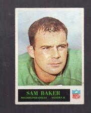 1965 PHILADELPHIA SAM BAKER #128 PHILADELPHIA EAGLES