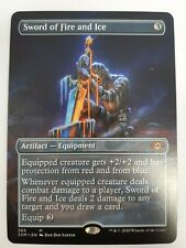 MTG Sword of Fire and Ice Borderless Magic the Gathering Double Masters Mint