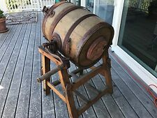 wood butter churn Richardson & Kendal size 2