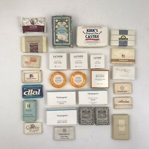 27 Hotel and Other Bar Soaps Neutrogena Modern Apothecary Essential Elements Etc