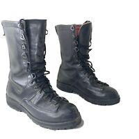 Danner 6711 Black Vibram Leather Combat Tactical Men's Boots 7 D Lace Up