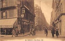 CPA 75 PARIS IXe RUE RICHER