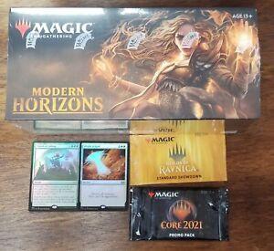 Magic The Gathering Modern Horizons Booster Box Sealed + Promos