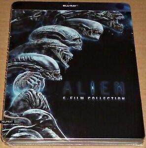 ALIEN 1-6 Coleccion : Aliens + Prometheus + Covenant + ... Steelbook BD- Eng Esp