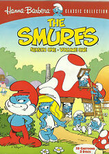 The Smurfs: Season 1, Vol. 1 (19 Cartoons on 2 DVDs) New but UNSEALED Region 1