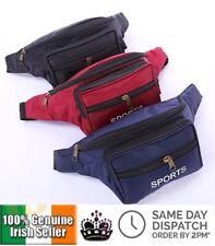 Utility Waist Bum Bag Fanny Pack Sport Canvas Travel Belt Money Wallet Passport
