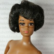(E73)~ NUDE BARBIE TNT TWIST N TURN AA CHRISTIE REPRO REPRODUCTION DOLL FOR OOAK