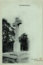 CPA Fontainebleau - the cross of calvary (166965)