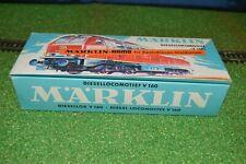 MARKLIN HAMO LOCOMOTIVE DIESEL V160 REF 8375 - DB 216 025-7 EN BOITE D'ORIGINE