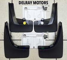 MOLDED SPLASH GUARDS/MUD FLAPS set of 4 OEM 2013-2015 DODGE DART - BRAND NEW!