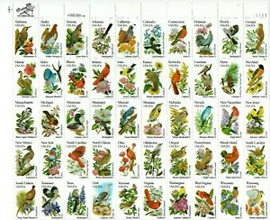 U. S. SCOTT CAT. # 1953A - 2002A FULL SHEET MNH