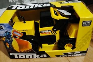 Tonka classic steel front loader