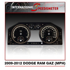 2009 - 2012 Dodge Ram Gaz Speedometer Faceplate (MPH)