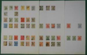 HONG KONG STAMPS ON 3 PAGES   (R43)