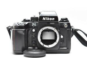 [ EXC Nikon F4 35mm SLR Film Fotocamera Corpo W/DP-20 Da Giappone #1770