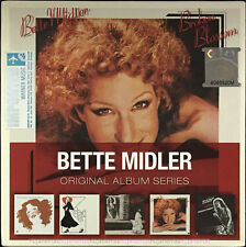 BETTE MIDLER Original Album Series 2011 MALAYSIA EU EDITION 5 CD SET NEW SEALED
