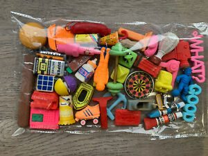 E27 Vintage 80s 90s Erasers Rubbers - Lovely Selection Of Classic Retro Erasers