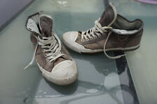 G-STAR Herren Men Schuhe Sneaker Boots Chucks sportlich Gr.43 textil beige