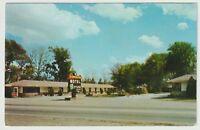 Unused Postcard Slumberland Motel Savannah Georgia GA on US 17