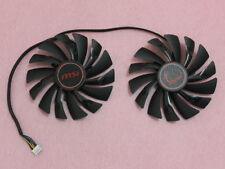 95mm MSI GTX950 GTX960 GTX970 GAMING Dual Fan PLD10010S12HH 4Pin 12V 0.40A R189a