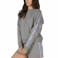 WOMENS XL I LOVE My Vans Crew NECK Sweater SWEATSHIRT NEW NWT GREY