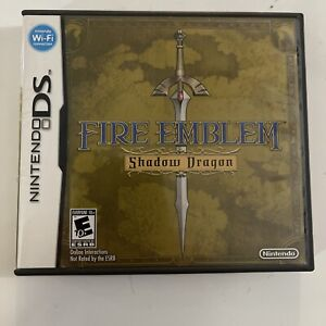 Fire Emblem: Shadow Dragon (Nintendo DS, 2009) COMPLETE & TESTED