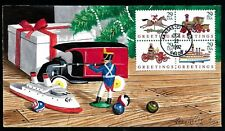 1992 Christmas FDC #2714a - HAND PAINTED by Gary KOLTER #9 of 30