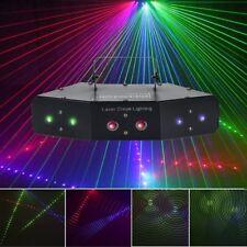 LED RGB Stage Laser Projector Beam DMX Effect Light Lighting Disco DJ Party KTV
