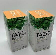 Tazo Refresh Mint Tea Bags 2 x 24 Count Boxes