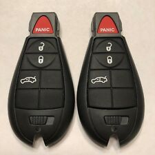 2 New Replacement Keyless Entry Remote Fob Fobik Shell Cases 4 Button IYZ-C01C