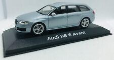 Minichamps 1/43 Audi RS 6 Monzasilber Avant 5010710213