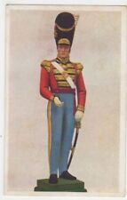 21st Royal Scots Fusiliers Field Officer 21st Regt. Statuette Art Postcard B896