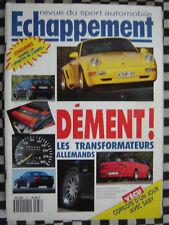ECHAPPEMENT 1991 BMW 850i HARTGE / MERCEDES 190 BRABUS + 300 CARLSSON / AUDI ABT