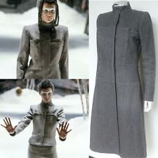 Alexander McQueen Catwalk Fall 1999 Grey Wool Coat IT 42 uk 10-8