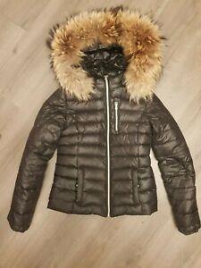 Welovefurs We love Furs Echt pelz jacke XXL pelzkragen NP 380€