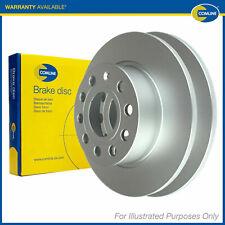 2x Genuine Comline Front Vented Coated Brake Discs Set Pair ADC1599V