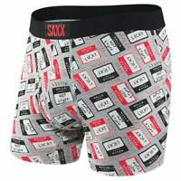 SAXX Ultra Boxer Brief Fly  Casual   Underwear - Grey - Mens