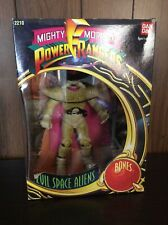 Mighty Morphin Power Rangers Bones Evil Space Aliens Bandai 1993 *New In Box*