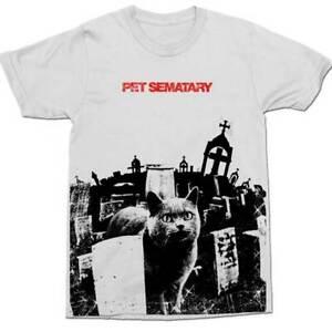 "New Men's  Stephen King Pet Sematary  "" Grunge"" Classic Horror Movie T-Shirt XL"