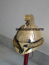 NEW REENACTMENT SOLID BRASS WITH LINER FINE PRODUCT FIREMAN FIREFIGHTER REPLICA