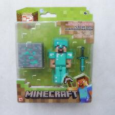 Minecraft Overworld 3� Diamond Steve Series 2 Collection Action Mini Figure Gift