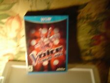 The Voice - I Want You (Wii U, 2014) Rated E10+ for Everyone 10+