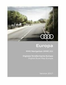AUDI Navi CD DVD 2017 Original MMI navigation Europe 2 G 4e0060884er